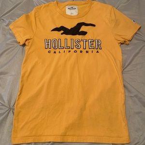 Hollister Logo T-Shirt (Mustard)